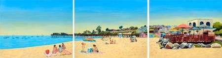 Capitola Beach Triptych