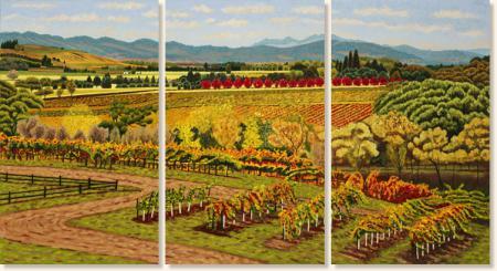 Alexander Valley Triptych