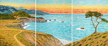 Big Sur Triptych